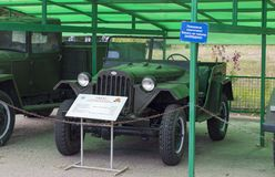 The car GAZ-67, increased cross-country ability. Produced in Gorky in 1943. stock photos