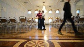 Nizhny Novgorod, Russia - 03.11.2015. Ballroom at stock video footage