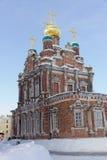 nizhny novgorod Russia - Luty 6 2017 Kościół prezentacja Vladimir ikona matka bóg Zdjęcie Stock