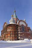 nizhny novgorod Russia - Luty 6 2017 Kościół prezentacja Vladimir ikona matka bóg Zdjęcia Royalty Free