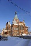 nizhny novgorod Russia - Luty 6 2017 Kościół prezentacja Vladimir ikona matka bóg Zdjęcie Royalty Free