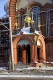 nizhny novgorod Russia - Luty 6 2017 Nazwa użytkownika kościół prezentacja Vladimir ikona matka bóg Zdjęcie Royalty Free