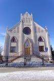 Nizhny Novgorod, Russia. - March 24.2016. Temple Seventh-day Adventist Christians on the street Shevchenko 1. Stock Photography
