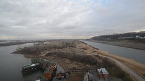 Nizhny Novgorod, Russia - views of stock video