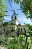 Nizhny Novgorod, Russie - 30 juin 2016 Temple de l'éloge de la Vierge bénie sur la rue 21A de Zalomov Photographie stock