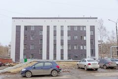 Nizhny Novgorod, Russie - 24 mars 2017 Tribunal régional de Nijni-Novgorod sur la rue Plotnicny Pereulok 38 Photos libres de droits