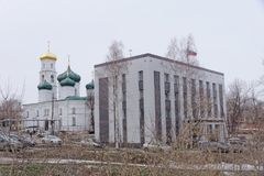 Nizhny Novgorod, Russie - 24 mars 2017 Tribunal régional de Nijni-Novgorod sur la rue Plotnicny Pereulok 38 et Images libres de droits
