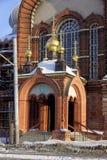 Nizhny Novgorod, Russland - 6. Februar 2017 Anmeldungs-Kirche der Darstellung Vladimir Icons der Mutter des Gottes lizenzfreie stockbilder