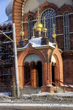 Nizhny Novgorod, Russland - 6. Februar 2017 Anmeldungs-Kirche der Darstellung Vladimir Icons der Mutter des Gottes Lizenzfreies Stockfoto