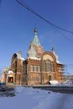 Nizhny Novgorod, Russland - 6. Februar 2017 Kirche der Darstellung Vladimir Icons der Mutter des Gottes Stockfoto