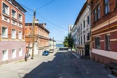 Nizhny Novgorod street Royalty Free Stock Photos