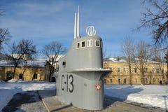 Nizhny Novgorod - Submarine Monument Royalty Free Stock Image