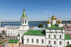 Nizhny Novgorod view Stock Photos