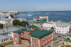 Nizhny Novgorod view Royalty Free Stock Image
