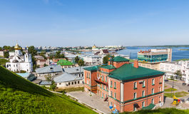 Nizhny Novgorod view Stock Photo