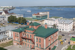 Nizhny Novgorod on Volga Stock Image