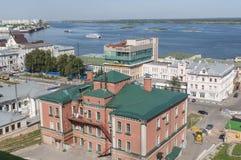 Nizhny Novgorod on Volga Stock Image