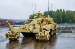 BMR-3MC Armoured deminer Royalty Free Stock Photos