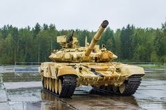 Russian tank T-90S Royalty Free Stock Image