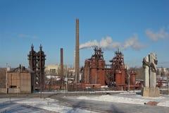 NIZHNY TAGIL, SVERDLOVSK REGION, RUSSIA-NOVEMBER 09, 2015: Foto av den Demidov fabriken Fabrik - museum Arkivbild