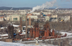 NIZHNY TAGIL, SVERDLOVSK region, RUSSIA-NOVEMBER 09, 2015: Fotografia Demidov fabryka Fabryka - muzeum Obraz Stock