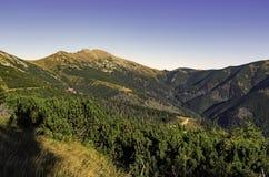 Nizke Tatry - baixo Tatras Foto de Stock Royalty Free