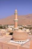 NIZWA, ОМАН: Мечеть Niswa Стоковое Изображение RF