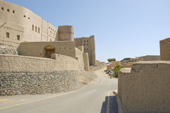 Nizwa Bahla Fort in Ad Dakhiliya, Oman. Stock Photos