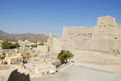 Nizwa Bahla Fort in Ad Dakhiliya, Oman. Royalty Free Stock Photo
