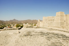 Nizwa Bahla Fort in Ad Dakhiliya, Oman. Stock Images