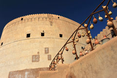Nizwa Castle Royalty Free Stock Photography