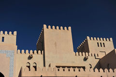 Nizwa Castle Stock Image