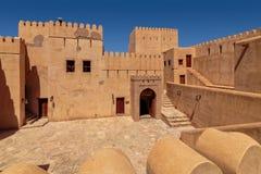 Nizwa fort Royaltyfri Bild