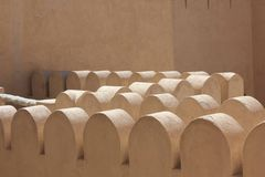 Nizwa Fort Castle Architectural detail Stock Photos