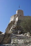 Nizwa Fort Castle, Oman Stock Image