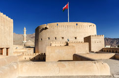 Nizwa Fort. The most popular fort in the Sultanate of Oman Stock Photo
