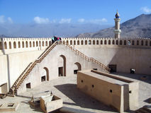 Nizwa Fort in Oman Royalty Free Stock Photos