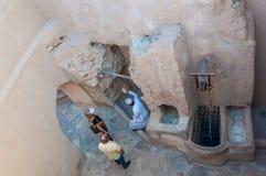 Nizwa fort, Oman Royaltyfri Foto