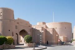 Nizwa-Fort, Oman Lizenzfreie Stockbilder