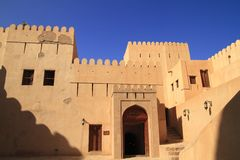 The Nizwa Fort Royalty Free Stock Images