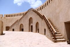Nizwa Fort, Oman Royalty Free Stock Images