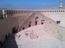 Nizwa-Fort von innen Stockfotografie