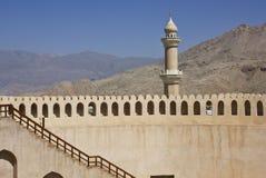 Nizwa fortslott, Oman Royaltyfri Foto