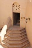 Nizwa fortu kasztel, schodki Zdjęcie Royalty Free