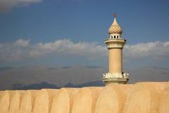 Nizwa-Minarett Lizenzfreie Stockbilder