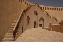 Nizwa slott, Oman Arkivbild