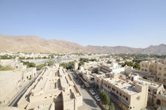 Nizwa town seen from the fort Stock Images
