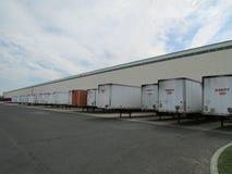 NJ的繁忙的仓库,美国 图库摄影