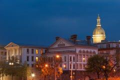 NJ capitol van de staat Stock Foto's