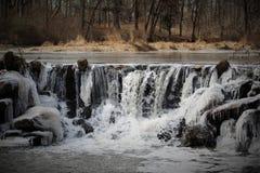 NJ de winterlandschap Stock Fotografie